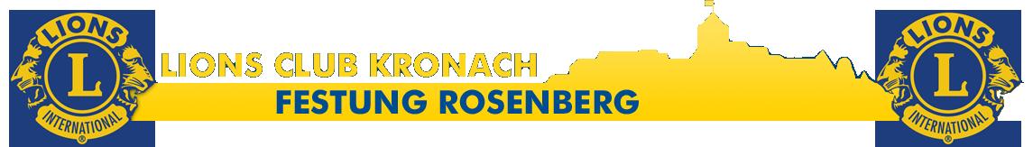 Lions Club Kronach Festung Rosenberg